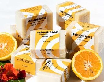 Hemp Soap Bar Organic Handmade Atelier Essence