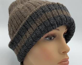 100% Alpaca Reversible Hat