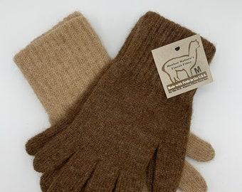 Alpaca Knit Gloves
