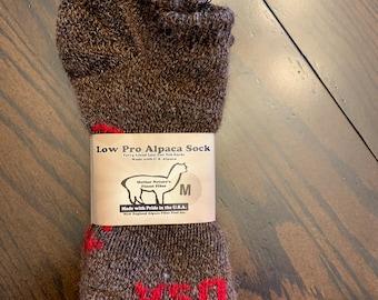 Low Pro Alpaca Bootie Socks