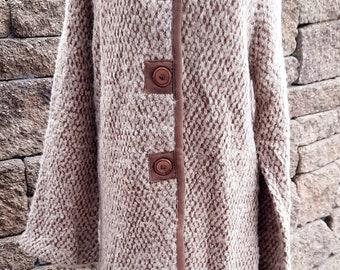 Alpaca Sweater Coat