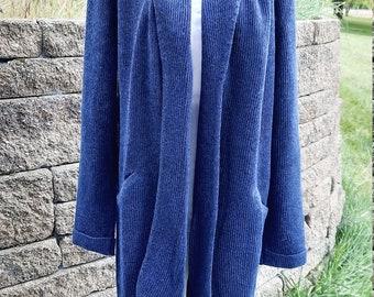 Alpaca Shawl Collared Sweater
