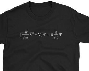 033bf62b4 Schrodinger Equation T-Shirt | Math, Physics, Science, Nerd T-Shirt