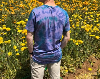 Tie Dye Cotton Medium Shirt