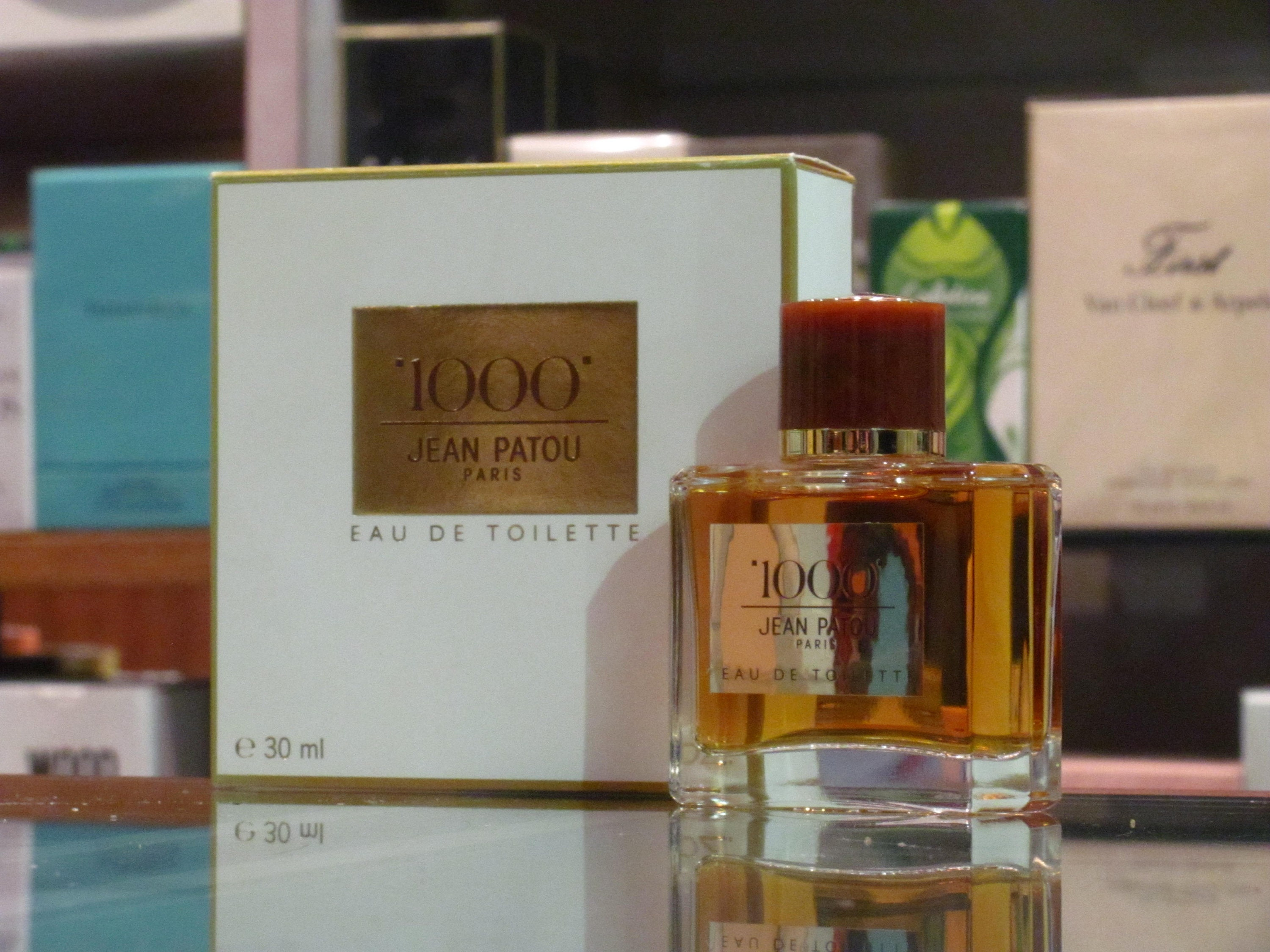 1000  Jean Patou Eau de Toilette 30ml Edt Splash  Very Rare