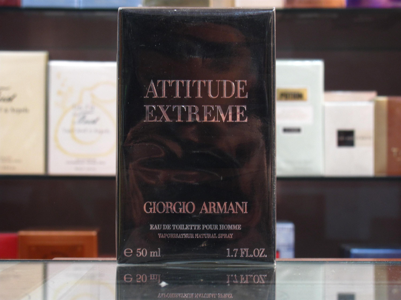 Attitude Extreme Giorgio Armani Eau De Toilette 30ml50ml Etsy