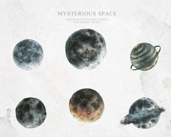crescent moon full moon png watercolor stains moon phases clipart Watercolor moon phases png moon mysterious space watercolor planets