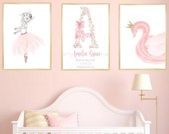 Baby Girl Room Decor Etsy