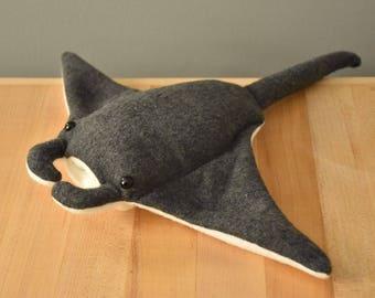 Manta Ray Stuffed Animal
