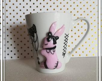 """""""Cute rabbit"""" mug"""