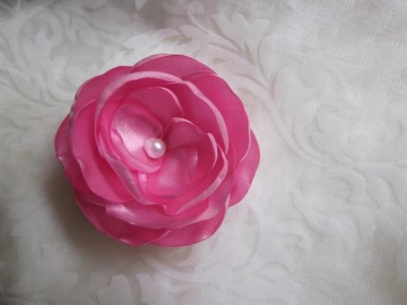 Zauberhafte Rosen Haarklemmen 2er Set