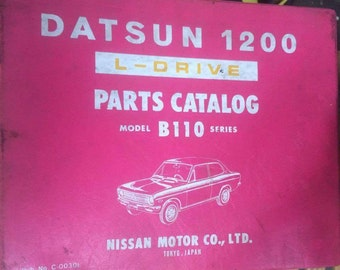 Parts Catalog Datsun 200L L-Drive Model C130 Series | Etsy