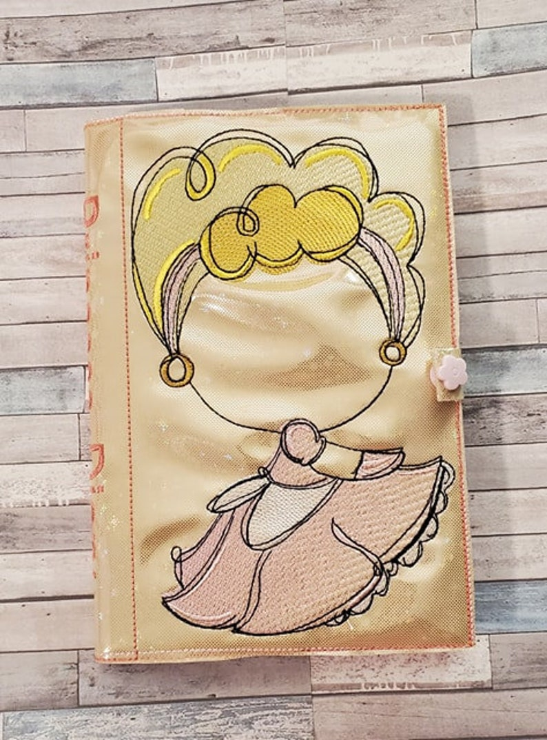 Available Sizes 8x12 6x10 5x7 4x4 INSTANT DIGITAL DOWNLOAD Fairy Tale Pink Princess Wprincess Saying Sketch Filled Embroidery Design