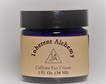 Caffeine Eye Treatment, Organic Eye Treatment, Eye Cream, De-Puffing Eye Treatment, Under Eye Treatment, 1 Fl. Oz.