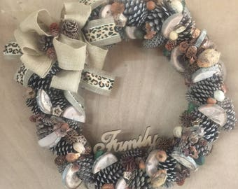 Farm House Wreath 10% of sale price is donated to St Jude Childrens Hospital