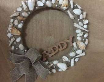 Beach Wreath 10% of sale price is donated to St Jude Childrens Hospital