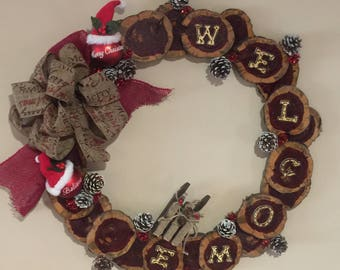Christmas Wreath 10% of sale price is donated to St Jude Childrens Hospital