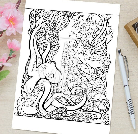 Anti-stress (Relaxation) – Printable coloring pages | 555x570