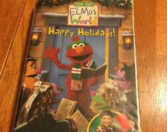 Sesame Street Happy Holidays Etsy
