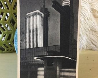 Carillon Tower Vintage Postcard