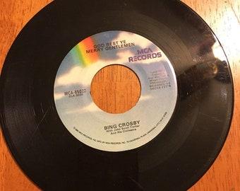 Bing Crosby Record God Rest Ye Merry Gentle Men
