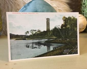 Memorial Tower Vintage Postcard