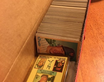 1977-1984 Baseball Cards Assorted