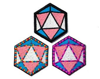 Trans pride d20 dice patch, version 2