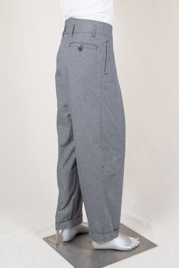 Men's Vintage Pants, Trousers, Jeans, Overalls 1940s Zoot Trousers $169.61 AT vintagedancer.com
