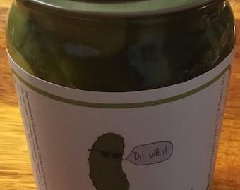 Horseradish Pickles 15oz jar