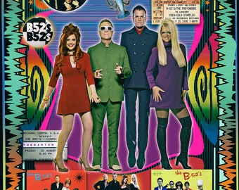 The B52s (Tin Roof Rusted!)