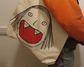"""The """"Smile For Me"""" Utility Tote"""