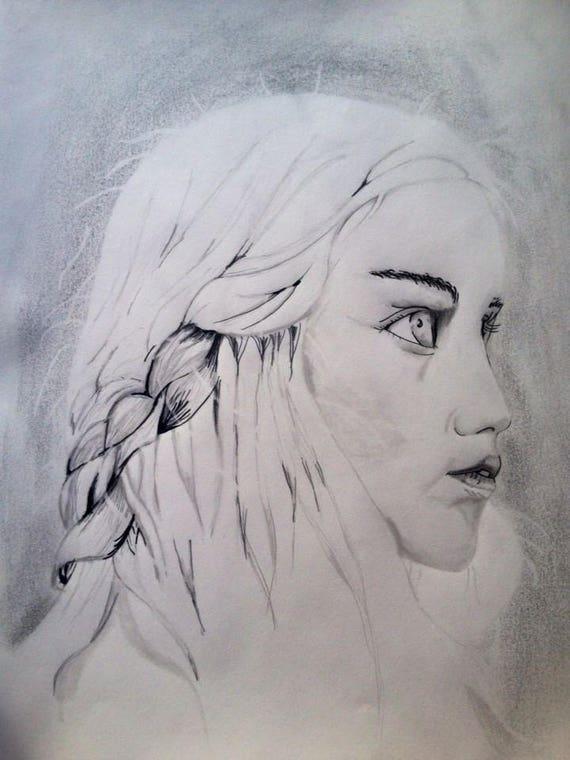 Daenerys Targaryen Game Of Thrones Design Etsy