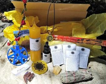 Litha / Summer Solstice / Midsummer Sabbat Ritual Box