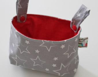 Handlebar bag for wheel stars light grey