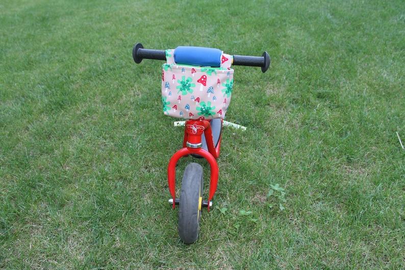 Handlebar bag for impeller  children/'s bike  scooter frog beige