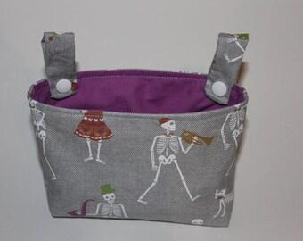 Handlebar bag for impeller skeleton