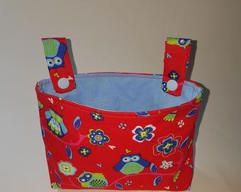Handlebar bag for Wheel owl Red