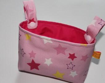 Handlebar bag for wheel stars Pink