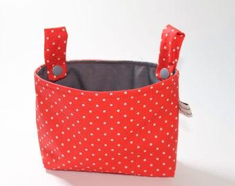 Handlebar bag for red wheel points
