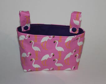 Handlebar bag for wheel flamingo Rosa