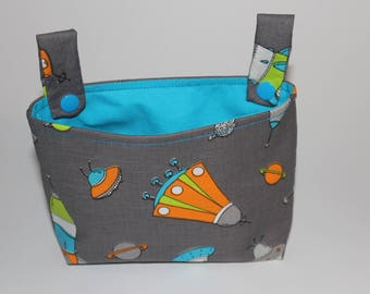 Handlebar bag for impeller rocket