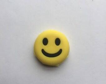 Yellow Rubber Smiley Face Emoji