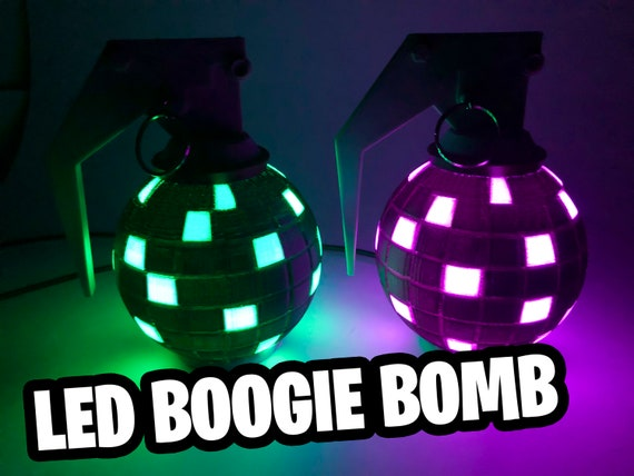 Fortnite Boogie Bomb Battle Royale Light Up Led Desk Prop