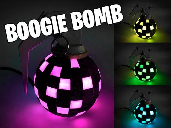 Fortnite Boogie Bomb Prop Or Night Light Battle Royale Light Etsy