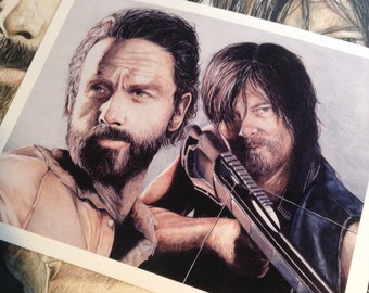 The Walking Dead Rick Daryl Carl Negan Michonne Bottle Opener Home & Garden Other Tv Show Merchandise