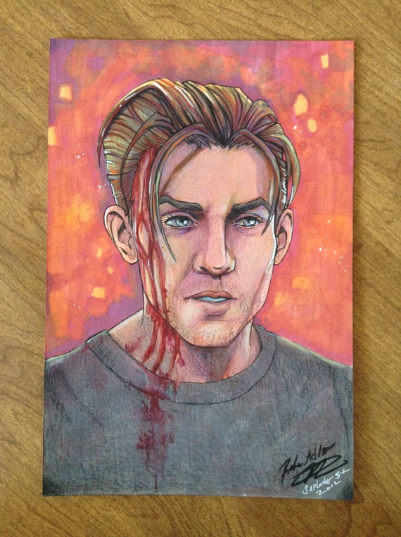 Original Drawing Rafe Adler Uncharted 4 A Thief S End Etsy
