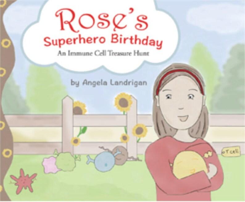 Rose's Superhero Birthday: An Immune Cell Treasure Hunt image 0