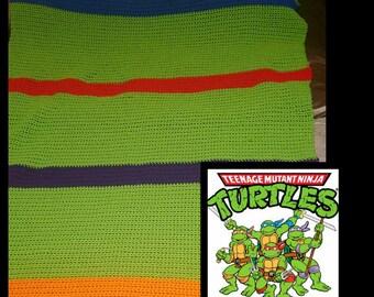 Teenage Mutant Ninja Turtles Blanket