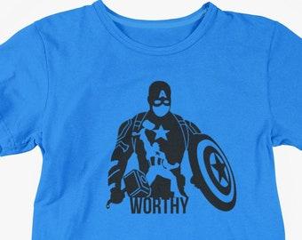 Marvel Comics Captain America Superhero Shield 3//4th Sleeve Baseball Tshirts Top